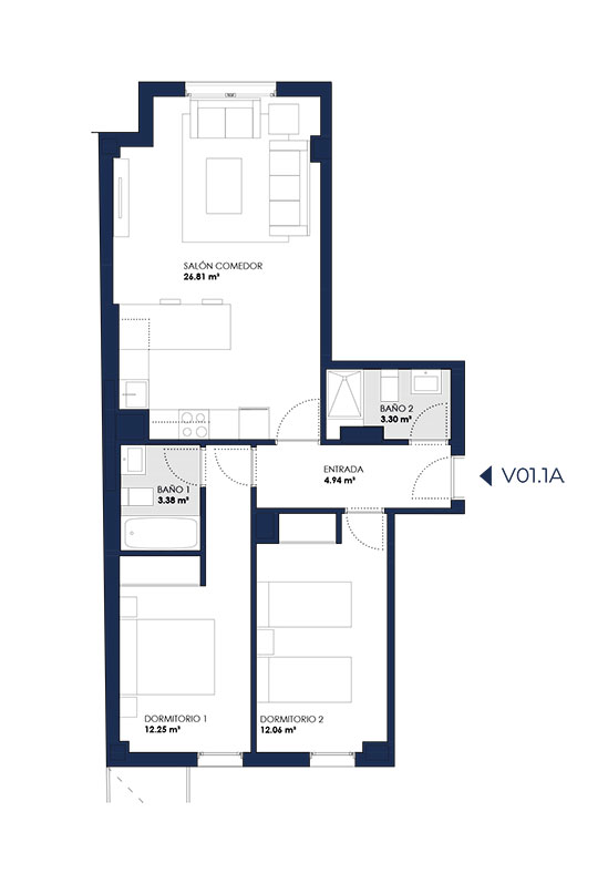 Promoción Ortega y Gasset 131 Inmobiliaria Echeverría